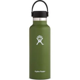Hydro Flask Standard Mouth Flex Bottle 532ml Olive